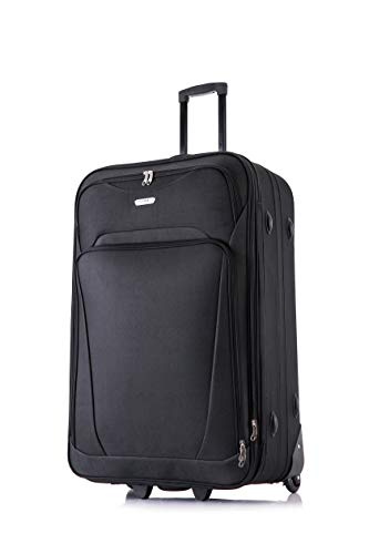 26' Large Lightweight Expandable Suitcase Luggage Case Trolley Bag Travel