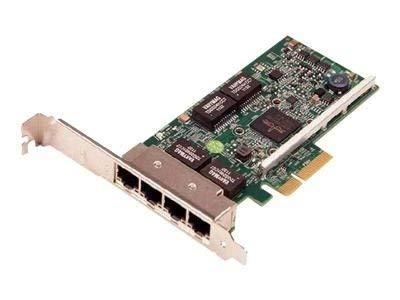 Dell 540-BBHB QLogic 5719 QP Netzwerkadapter, Low Profile, Gigabit Ethernet x 4, für PowerEdge-R320 R420 R430 R520 R530 R620 R630 R720 R730 R820 VRTX M520 VRTX M620