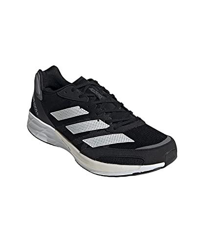 adidas Adizero Adios 6 M, Zapatillas para Correr Hombre, Core Black FTWR White Grey Five, 46 2/3 EU
