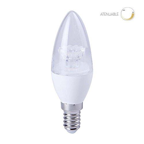 Foco LED Base E14, Luz Suave Cálida Tecnolite EICDE14-LED/001/30