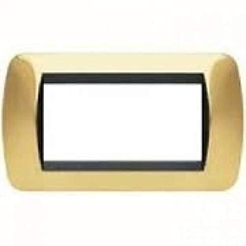 Living INT PLACCA 4 POSTI Oro Satinato L4804OS