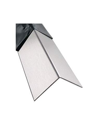 1mm Edelstahlwinkel 1.4301 Oberfläche gebürstet Länge 1000/1500/2000mm (40x40 2000mm)