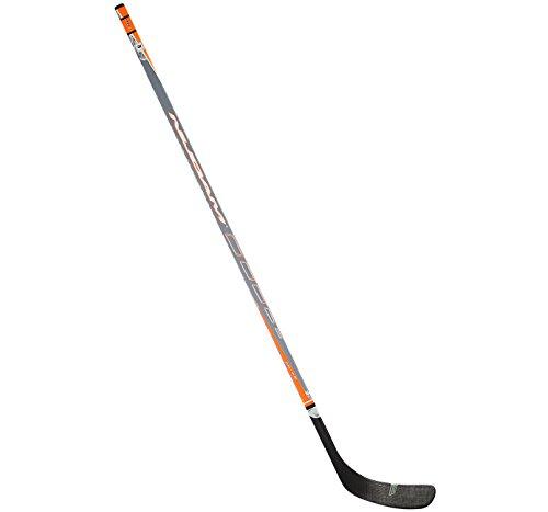 SCHREUDERS SPORT Nijdam Holz und Fiber Glas Ice Hockeyschläger 1 Anthracite/Fluorescent Orange/Silver
