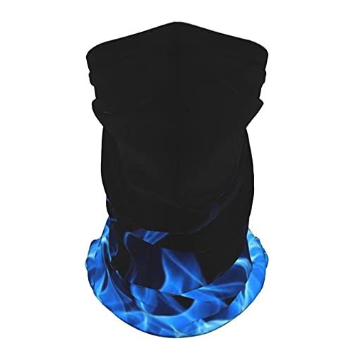 Fuego moda multiusos hielo seda bufanda cuello transpirable máscara facial verano protección solar y protección UV al aire libre
