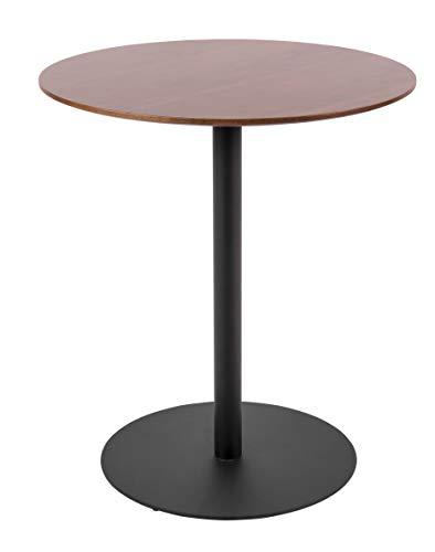 Present Time - Table d'appoint Bois et métal Dot Ø40 cm