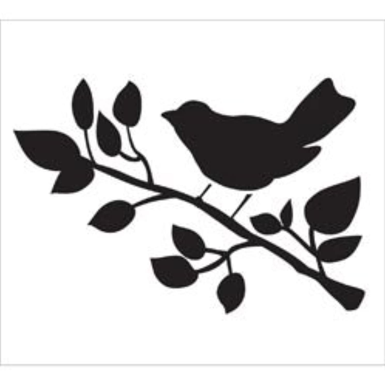 Bulk Buy: Martha Stewart Crafts (3-Pack) FolkArt Painting Stencil 8.5in. x 10in. Bird FAPS-30601