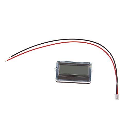 IPOTCH Säure Batterie LCD Anzeige Der 12V Batterie Für Motorrad Golfmobile