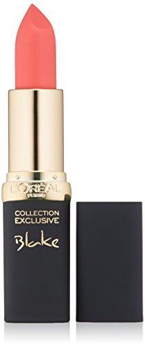 L'Oréal Paris Colour Riche Collection Exclusive Lipstick, Blake's Pink, 0.13 oz.
