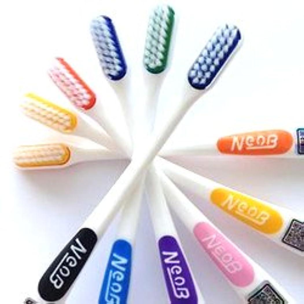 同一性フェリー後方にNeoB ネオビー 3列歯ブラシ