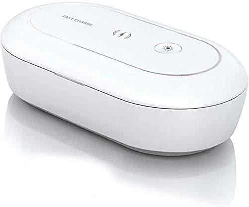 Uv-Sterilisatoren 3-In-1 Uv-Reinigung Box Handys Sanitizer Wireless-Ladegerät Und Aromatherapie-Maschine Multi-Funktions-Desinfektions Box Geeignet Für Iphone 11 Xs Max Xr Iphone 9 Oder Mehr