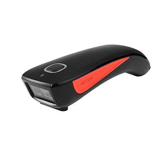 NETUM C990 Bluetooth 2D QR Barcode Scanner Wireless kompatibel, kleine Tasche USB 1D 2D QR Code Scanner für Inventar, Barcode Bildleser für Tablet iPhone iPad Android iOS PC POS