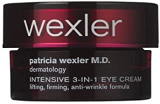 Patricia Wexler M.D. dermatology Intensive 3-in-1 Eye Cream as sold by Bath and Body Works .25 fl oz (7.5 mL)