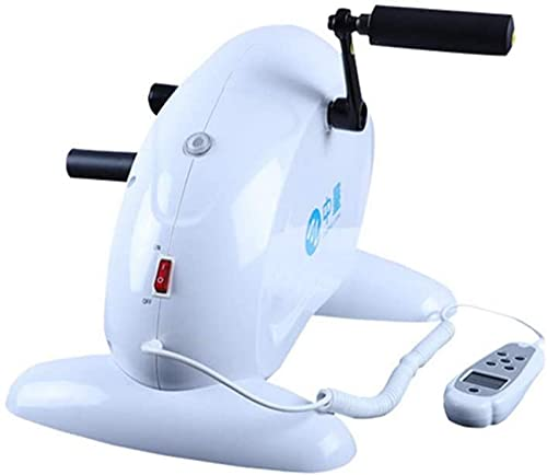 MFLASMF Máquina de rehabilitación eléctrica portátil Equipo de hemiplejía por accidente cerebrovascular Bicicletas para Miembros Superiores e Inferiores-Estufas corporales de Ejercicio par