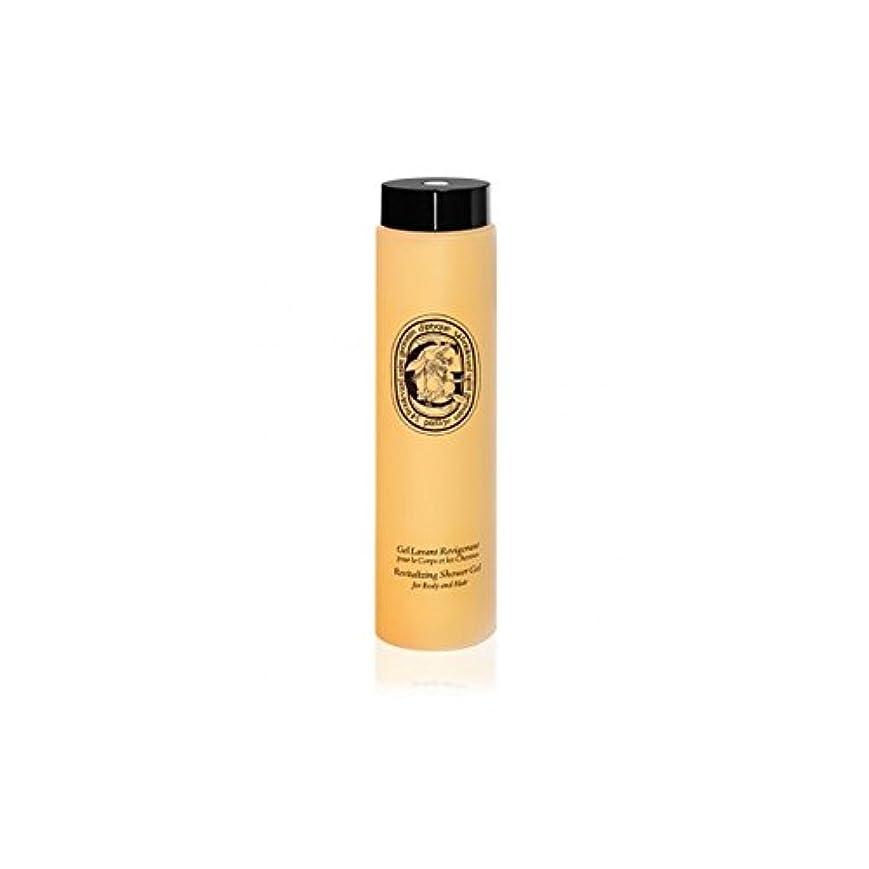 送る生態学閃光Diptyque Revitalizing Shower Gel For Body And Hair 200ml (Pack of 6) - ボディ、ヘア200ミリリットルのためDiptyqueのリバイタライジングシャワージェル (x6) [並行輸入品]