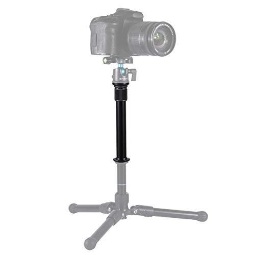 """PULUZ Metal Handheld Adjustable 3/8"""" Size Tripod Mount Monopod Extension Rod for DSLR & SLR Cameras"""