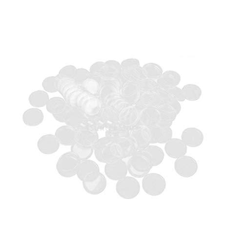 Kasten-speicher-münzenkapseln Transparent Frei Runde Münzen-kasten-organisator Für Speicher 100pcs Dienstprogramme Praktisches Werkzeug