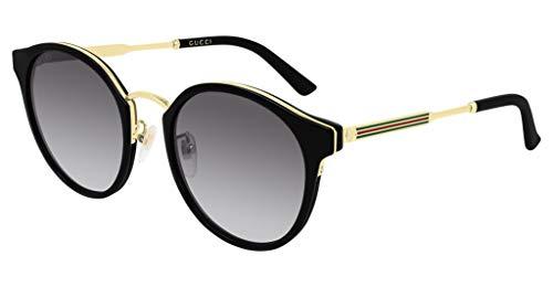 Gucci Unisex zonnebril GG0588SK zwart goud/grijs SHADED 54/21/150