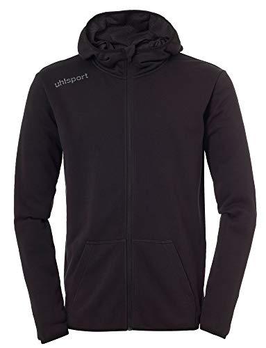 uhlsport Herren Essential Hoodie Jacke, schwarz, L