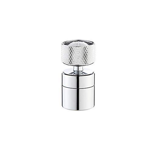 Naiyn Grifo Universal con Filtro de Salpicaduras, Ducha y Filtro presurizados y Que ahorran Agua, Cabezal rociador de Grifo Giratorio de 360 Grados para Accesorios de Herramientas de baño de Cocina
