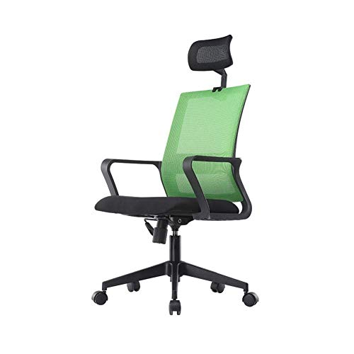 Study Chair Chaise Gamers Executive Chair Office Chair Ergonomic Rolling Stool Height Adjustable Swivel with Back Cushion Foot Rest and Wheels