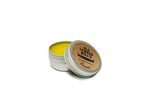 Old Lumber Mill's Premium Beard Balm Coconut 30ml | Bartbalsam für die tägliche Anwendung | Bart Pomade