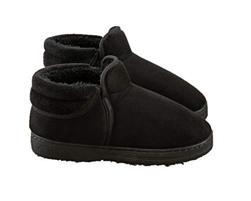 Pantofole Per Riscaldamento Da Donna 1 Paio Di Pantofole Per Riscaldamento Elettriche Scarpe In Peluche Riscaldate Scaldapiedi Per L'inverno - Nero 38-40EUR(27CM)