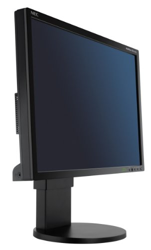 NEC MultiSync EA231WMi 58,4 cm (23 Zoll) TFT Monitor DVI-I, VGA (Kontrast 1000:1, 14ms Reaktionszeit) schwarz