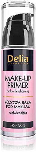 Delia Free Skin Make-up Primer Pink-Brightening 35ml by Delia Cosmetics