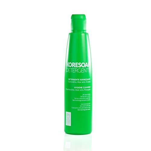 Koresoap detergente | Igienizzante per mani, corpo e parti intime | Pelli sensibili | Senza saponi aggressivi | 300 ml