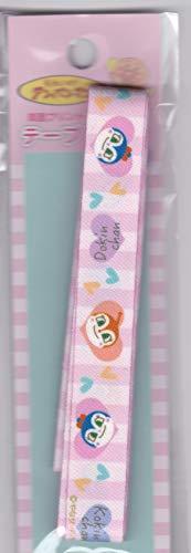 稲垣服飾 キャラクター アンパンマンリボンテープ ドキンちゃんコキンちゃん 両面プリント ストラップ AT002