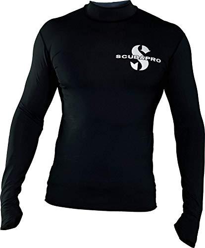 SCUBAPRO Swim Rash Guard Langarm Herren Slim Fit UV-Shirt Collection 2017 (L)