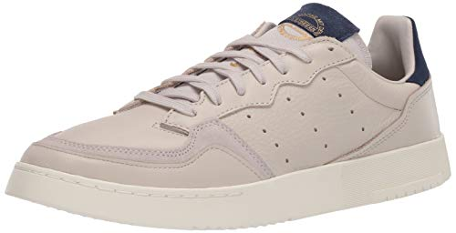 adidas Originals Supercourt - Zapatos de tacón para Hombre, Gris (Clear Brown/Clear Brown/Collegiate Navy), 39 EU