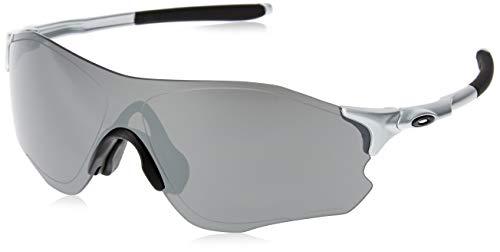 Oakley Men's EVZERO Path Asian Fit Sunglasses,OS,Silver/Prizm Black