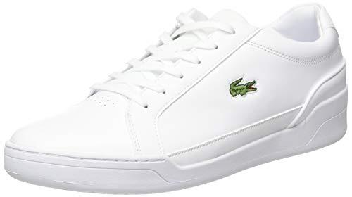 Lacoste Herren Challenge 0120 2 SMA Sneaker, Weißes Wht Wht, 43 EU