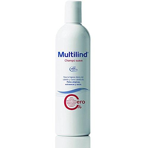Multilind Champú Suave - 400 ml. Champú hipoalergénico