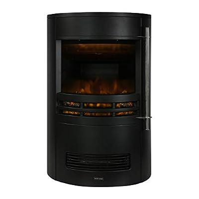 Zanussi ZEFSTV2001B Electric Fire Stove, Black, 64.5cm x 41cm x 41cm