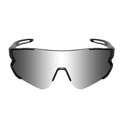 Funní Día Gafas de Ciclismo al aire libre, Lente Polarizada con Marco TR90,Gafas de sol Deportivas para Adultos Unisex FD548-4