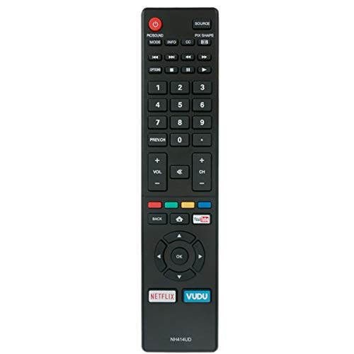 NH414UD Replace Remote Applicable for Sanyo TV FW43C46F FW43C46F-B FW55C46F FW55C46F-BFW50C76F FW43C46FB FW55C46FB FW50C36F FW50C36F-B FW50C36FB FW50C78F FW65C78F FW55C78F FW50C85T FW50C87F FW55C87F