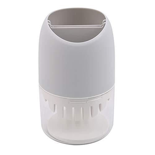 WEIHEEE Drenaje palillo jaula ecológica vajilla cuchara tenedores caja de almacenamiento para uso en el hogar