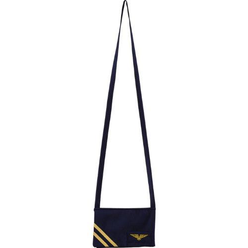 PARTY DISCOUNT NEU Tasche Stewardess, blau