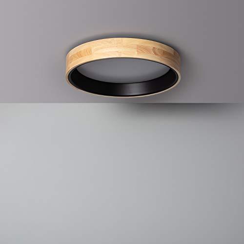 LEDKIA LIGHTING Plafón LED 20W Circular Dari CCT Seleccionable Negro