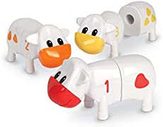 Learning Resources Counting Cows Toy Set, Math Games for Kindergarten, Counting & Sorting Set, 20 Pieces, Ages 2+