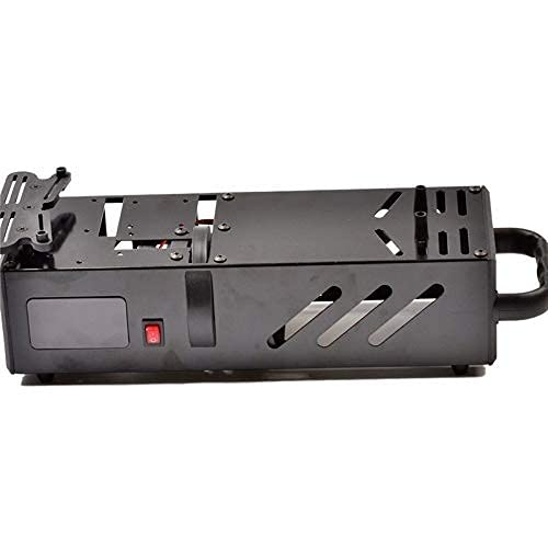 Caja de arranque de rendimiento Adecuado para modelo RC Caja de arranque Adecuado para motor de radiocontrol Camión Buggy Truggy Adecuado para repuestos de automóvil HSP 1/8 (Color: Negro) (Color: Neg