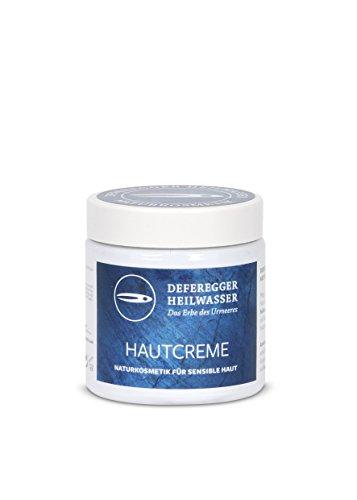 Hautcreme 100ml - Hautpflege und Hautschutz bei trockener, juckender, schuppiger, geröteter Haut - ohne Cortison - 100% natürliches Deferegger Heilwasser - mit vielen wertvollen Mineralstoffen