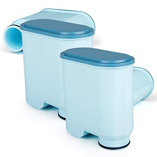 Wasserfilter kompatibel mit Philips AquaClean, Jisson Aktivkohle-Weichmacher Kalkschutzfilter Kompatibel mit CA6903 AquaClean (4 Stück)