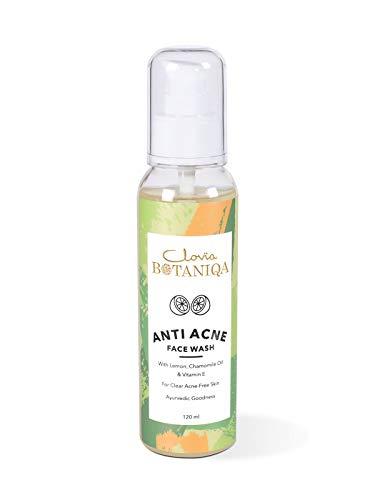 Clovia Botaniqa Anti Acne Face Wash – Oil Free – No Parabens, Sulphate, Silicones (120mL)