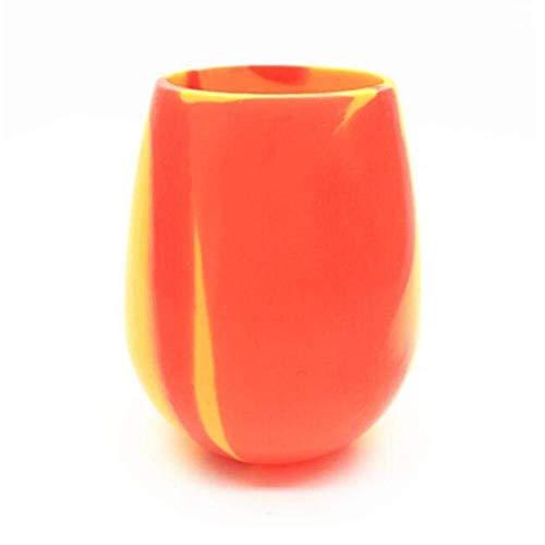 UPKOCH 2 Piezas Tapa de Taza de Silicona en Forma de Nieves Cubierta Silicona para Copas Vasos