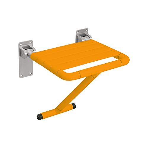 IAIZI - Silla de baño plegable con patas de apoyo para colgar...