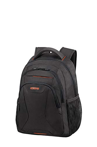 American Tourister At Work Mochila tipo casual 46 centimeters 20.5 Negro (Black/Orange)