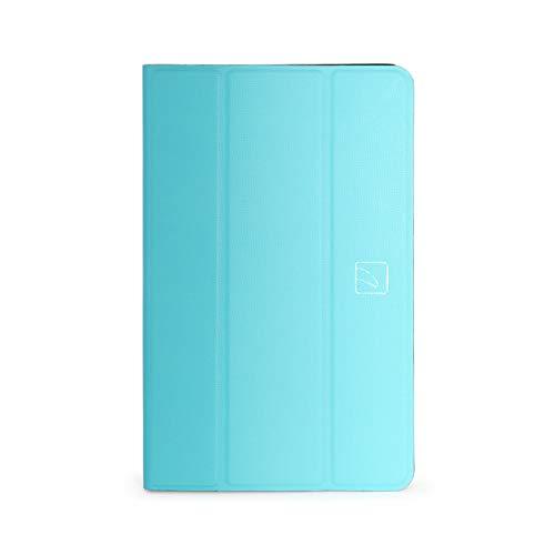 Tucano TRE Foliohülle Hartschalencase Case Schutzhülle für Samsung Galaxy Tab A6 10.1, Tab A 2018 Modell, Blau